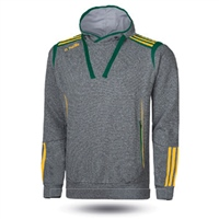 ONeills Solar Fleece Overhead Hoodie - Adult - Marl Grey/Bottle/Amber