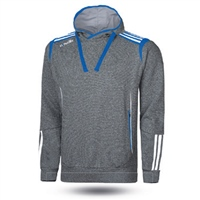 ONeills Solar Fleece Overhead Hoodie - Adult - Marl Grey/Royal/White