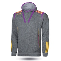 ONeills Solar Fleece Overhead Hoodie - Kids - Marl Grey/Purple/Amber