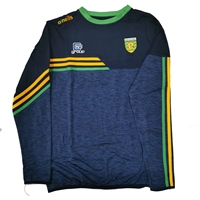 ONeills Donegal Nevis Brushed Crew Neck Top - Mel.Marine/Marine/Amb/Emerald