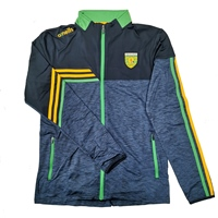 ONeills Donegal Nevis Brushed FZ Top - Mel.Marine/Marine/Amb/Emerald