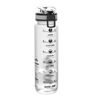 Ion8 1000 ML Water Bottle - Clear