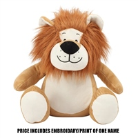 Mumbles Personalised Lion - Brown