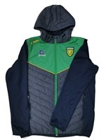 ONeills Donegal Nevis LT Weight Jkt with Hood - MarlEmer/Navy/Amber