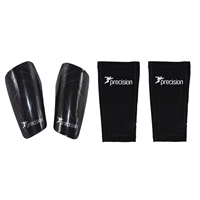 Precision Pro Matrix Shinguards - Black