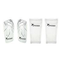 Precision Pro Matrix Shinguards - White