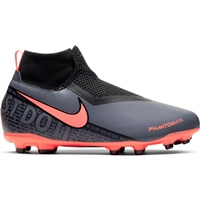 Nike Phantom Vision Acad. Dynamic Fit MG - Kids - Grey/Mango