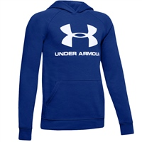 Under Armour Kids Rival Logo Hoodie - Blue