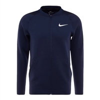 Nike Mens Full Zip Fleece Top - Navy