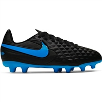 Nike Tiempo Legend 8 Club MG - Kids - Black/Blue