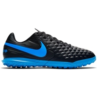 Nike Tiempo Legend 8 Club Turfs - Kids - Black/Blue