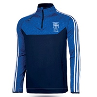 Naomh Conaill Kasey Brushed Half Zip Top - Adult - Marine/Mel Royal/White