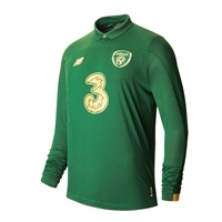 New Balance FAI Ireland Home Jersey 19/20 L/S - Green