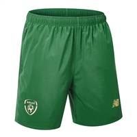 New Balance Ireland FAI Base Coaches Short 19/20 - Green