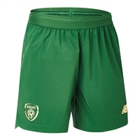 New Balance Ireland FAI Junior Home Short 19/20 - Green