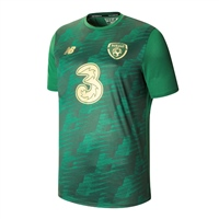 New Balance Ireland FAI Off Pitch Graphic Tee 19/20 - Green