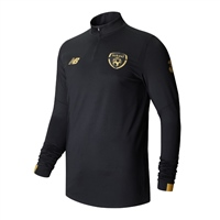 New Balance Ireland FAI OnPitch LS Midlayer 19/20 - K - Black