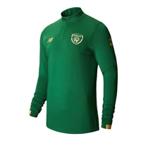 New Balance Ireland FAI OnPitch LS Midlayer 19/20 - K - Green