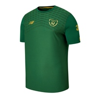 New Balance Ireland FAI Pre Game Jersey 19/20 - Green