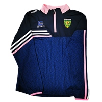 ONeills Donegal Nevis Ladies Brushed HZ Top - Navy/White/Pink