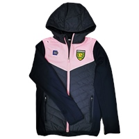 ONeills Donegal Nevis Ladies Jkt with Hood - Navy/Pink/White