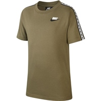 Nike Boys NSW Repeat S/S T-Shirt - Olive