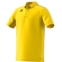 Adidas CORE 18 POLO-YOUTH - Yellow