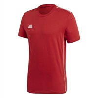 Adidas CORE 18 TEE - Red/White
