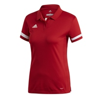 Adidas T19 POLO - WOMENS - Red/White