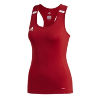Adidas T19 TANK - WOMENS - Red/White