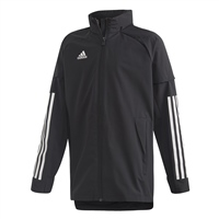 Adidas CONDIVO 20 ALL WEATHER JACKET-YOUTH - Black/White