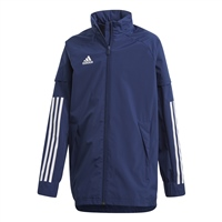 Adidas CONDIVO 20 ALL WEATHER JACKET-YOUTH - Navy/White