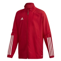 Adidas CONDIVO 20 PRESENTATION JACKET-YOUTH - Red/White
