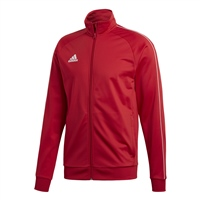 Adidas CORE 18 POLY JACKET - Red/White