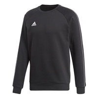 Adidas CORE 18 SWEAT TOP-YOUTH - Black/White