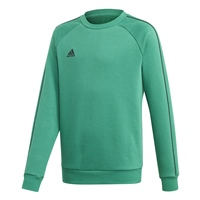 Adidas CORE 18 SWEAT TOP-YOUTH - Bold Green