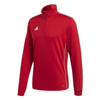 Adidas CORE 18 TRAINING TOP - Red/White