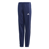 Adidas CORE 18 POLY PANTS-YOUTH - Dark Blue