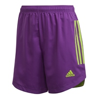 Adidas CONDIVO 20 SHORTS-YOUTH - Purple/Solar Green