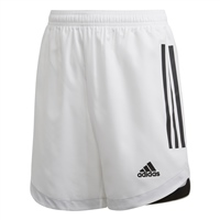 Adidas CONDIVO 20 SHORTS-YOUTH - White/Black