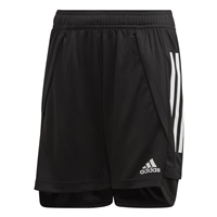 Adidas (Teamwear) CONDIVO 20 TRAINING SHORTS-YOUTH - Black/White