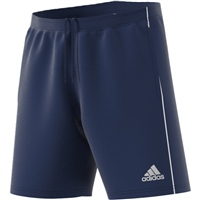 Adidas (Teamwear) CORE 18 TRAINING SHORTS - Dark Blue/White