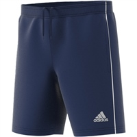 Adidas (Teamwear) CORE 18 TRAINING SHORTS-YOUTH - Dark Blue/White