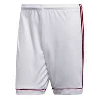 Adidas SQUADRA 17 SHORTS - White/Red