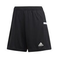 Adidas (Teamwear) T19 KNIT SHORTS - WOMENS - Black/White