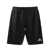 Adidas (Teamwear) T19 KNIT SHORTS - Black/White