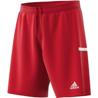 Adidas (Teamwear) T19 KNIT SHORTS - Red/White