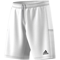 Adidas (Teamwear) T19 KNIT SHORTS - White