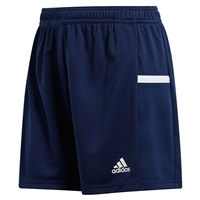 Adidas (Teamwear) T19 KNIT SHORTS - WOMENS - Navy/White