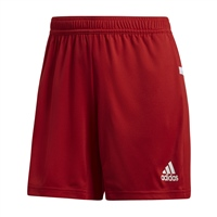 Adidas (Teamwear) T19 KNIT SHORTS - WOMENS - Red/White